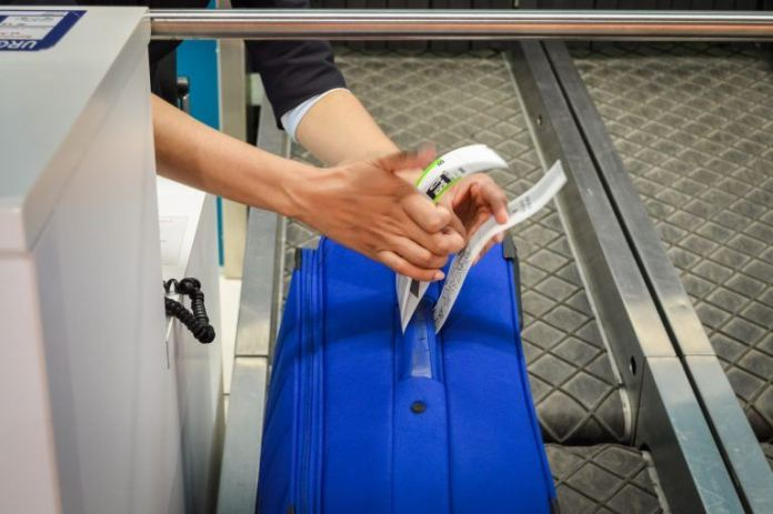 Etiqueta de bagagem
