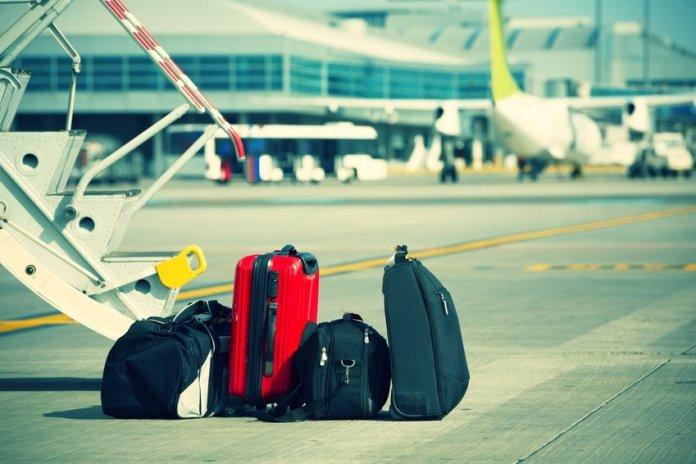 Malas em aeroporto