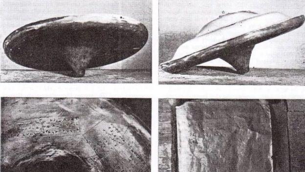Disco voador de Silpho Moor