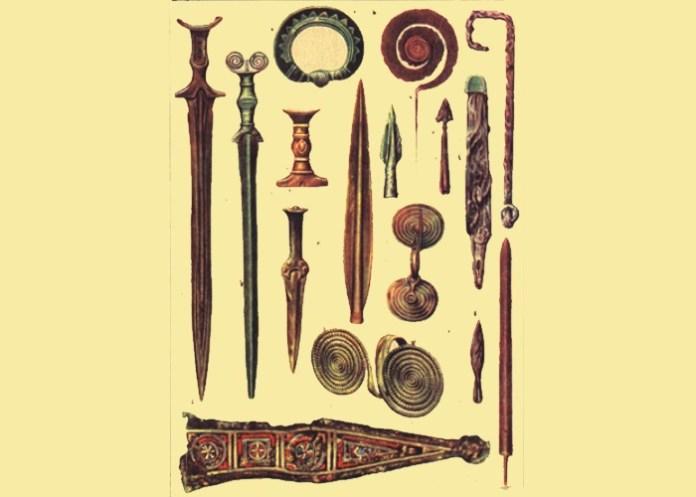 Artefactos de la Edad del Bronce