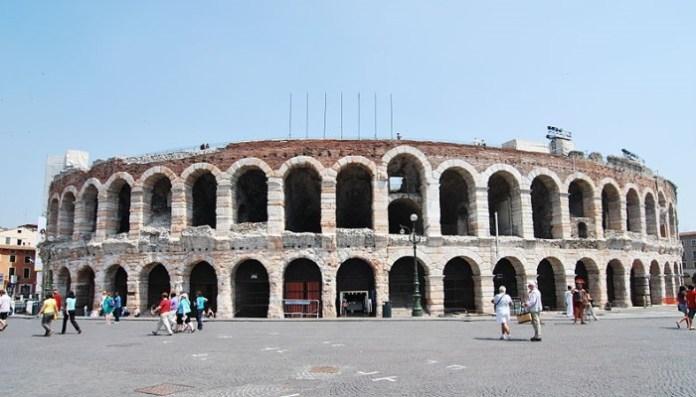 la Arena de Verona Italia