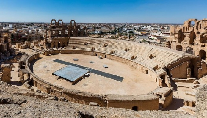 El Estadio El Djem, Túnez