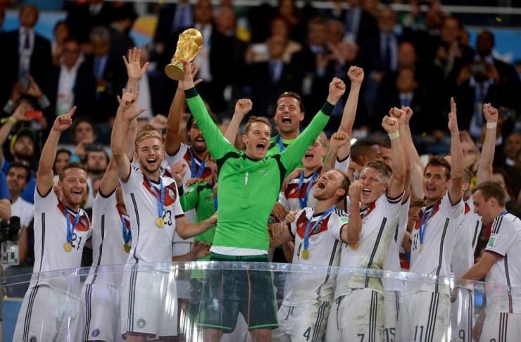 la Alemania campeona de la Copa