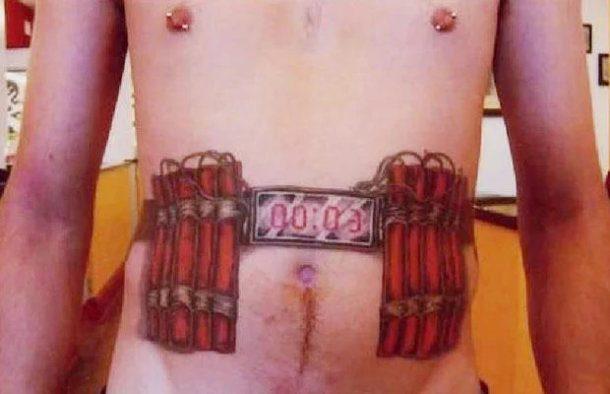 Tatuaje de mal gusto