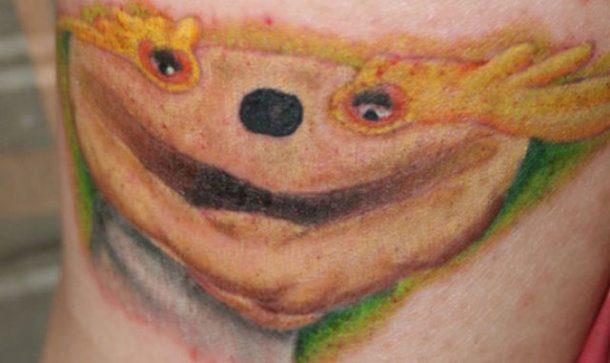 Tatuaje indescriptible
