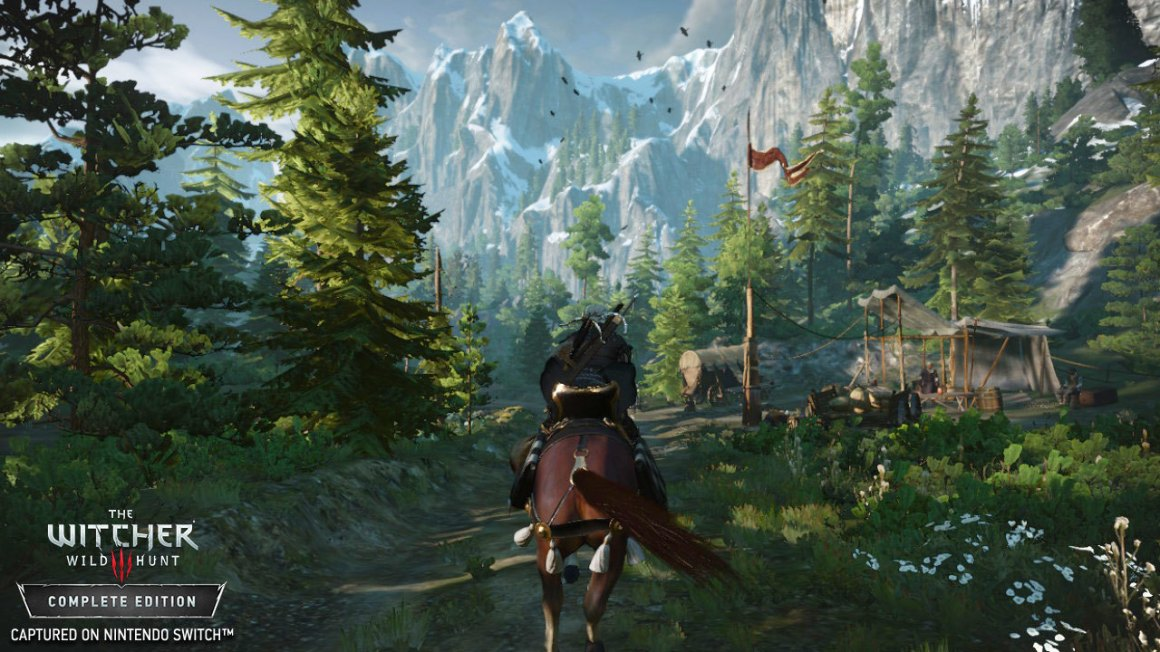 The Witcher 3 ganha novas screenshots no Switch – e está bem bonito