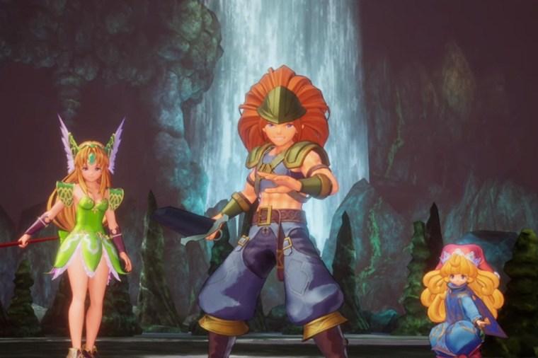 Resultado de imagem para trials of mana remake