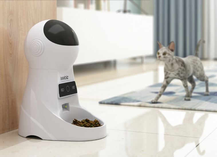 Imagem: Alimentador automático para pet