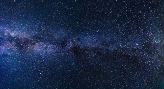 Most of the Milky Way is made up of dark matter.
