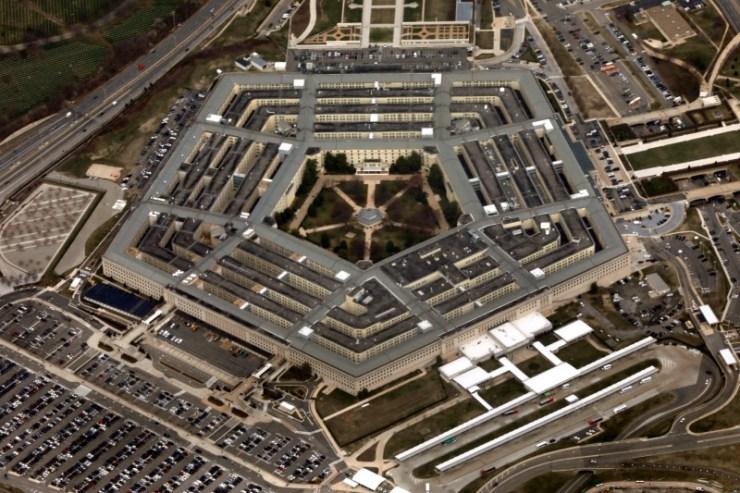 Imagem da sede do Departamento de Segurança dos EUA