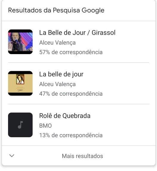 qual é a música Google
