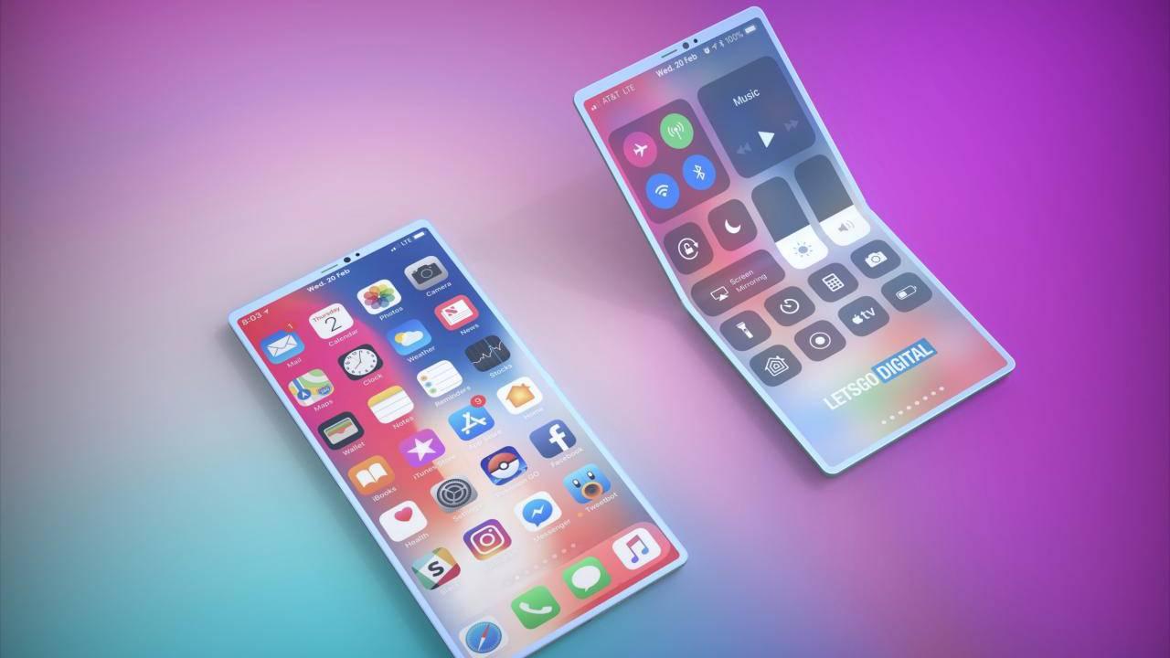 A Apple também deve apresentar um celular dobrável em 2021.