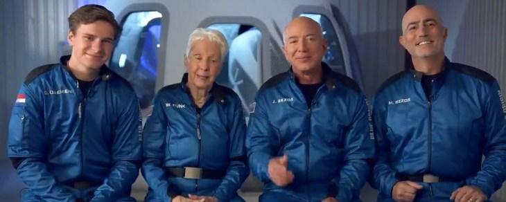 Jeff Bezos diz que bilionários não estão 'passeando' no espaço - TecMundo