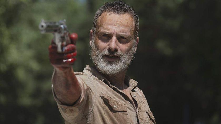 Rick Grimes left TWD in Season 9