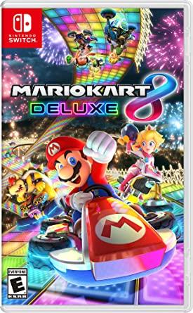 Image: Mario Kart 8 Deluxe Game, Nintedo Switch