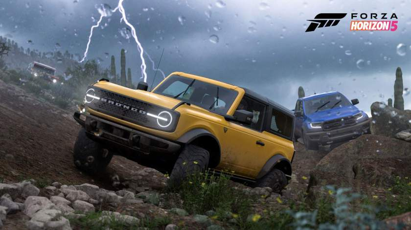 Ford Bronco 2021 is one of Forza Horizon 5's initial three cars (Image: Xbox Game Studios)