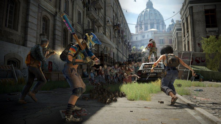 Regain control of Vatican City in one of the all-new episodes of World War Z: Aftermath