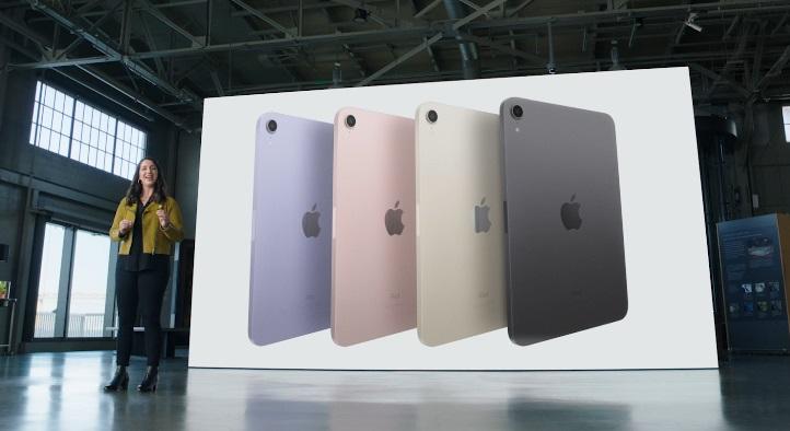 The new iPad mini colors.