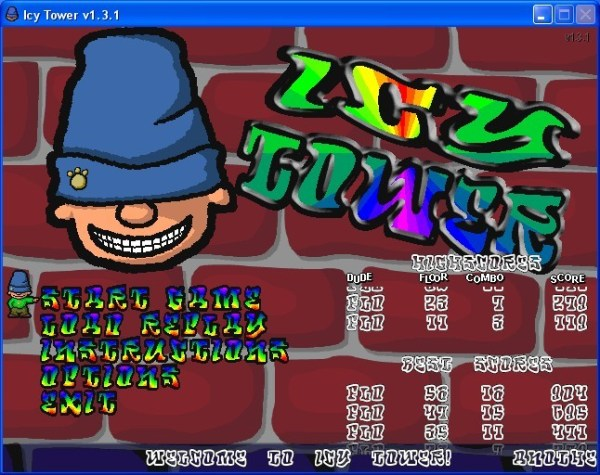The Game Icy Tower Cheats Software Free Download