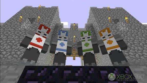 Minecraft DLC Para Xbox 360 Contendo Muitas Skins E Novo