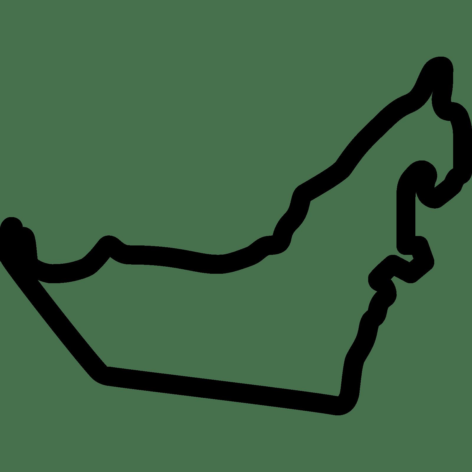 Uae Map Icon