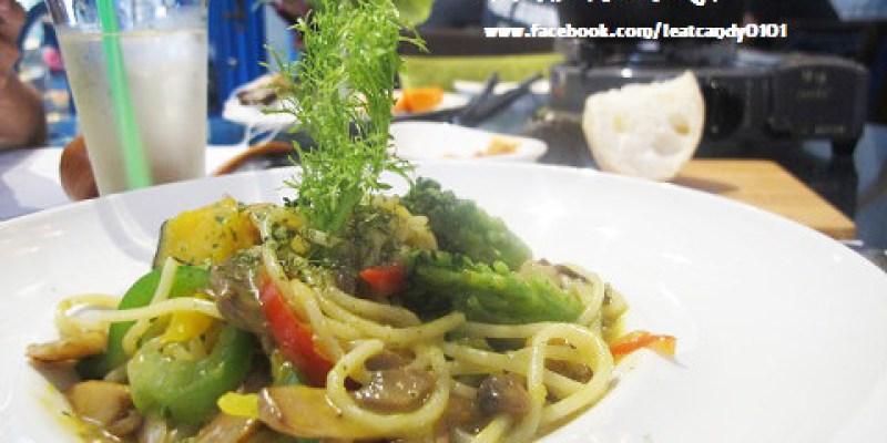 『台南中西區_赤崁璽樓-原禪食餐廳』顛覆傳統的蔬食料理,必吃南瓜義大利麵阿~~