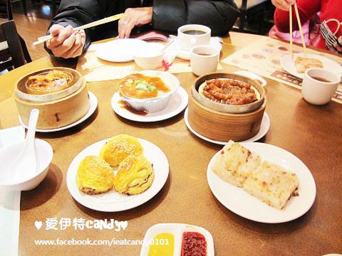 『台北忠孝東路_京星港式飲茶part 2店』平價港式飲茶,台北人的早餐,蘿蔔糕、豉汁鳳爪、京都排骨