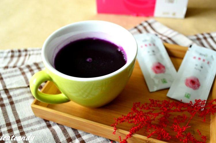 沖泡飲品_連淨acon pure-口袋農園│植物玫瑰粉沖泡的自然飲品,散發玫瑰香氣。