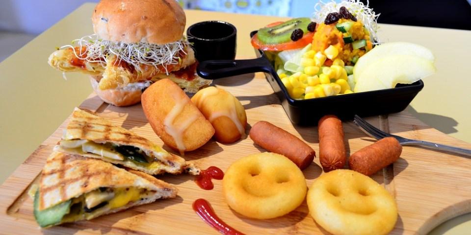 田中素食_甲菜人蔬食早午餐│田中出現西式蔬食早點,吃素的人也能享用美味一餐~