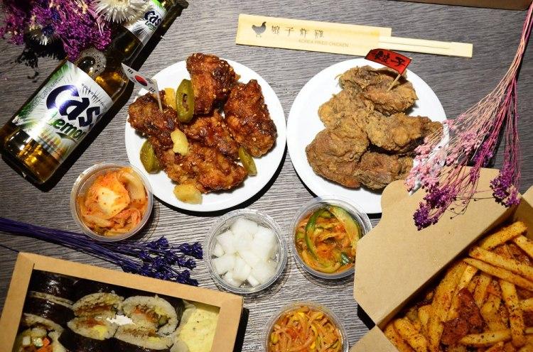台北松山區美食_娘子炸雞│東區炸雞推薦,辣味BBQ炸雞令人吮指回味,還有知名CASS啤酒可以喝~