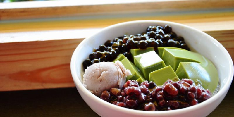 鹿港美食_鹿港烏婆鮮奶豆腐冰│天后宮附近美食,清爽,綿密的滋味很消暑。