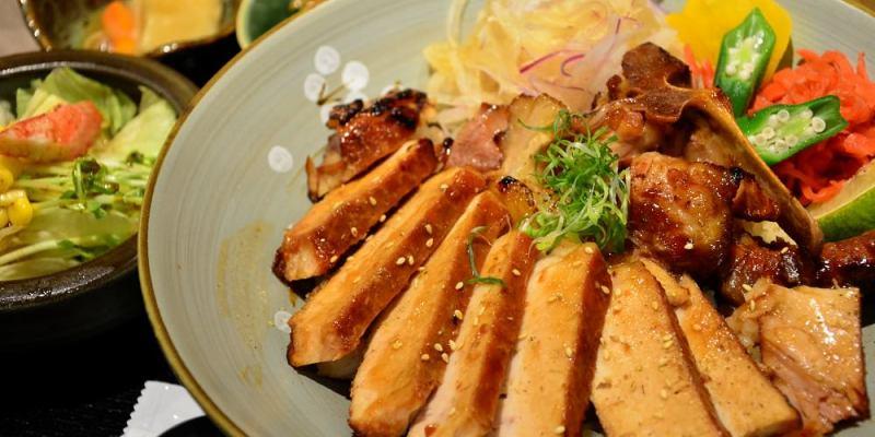 台中日式料理_五人丼│台中南屯丼飯推薦,多款炭火直燒日式定食、丼飯,份量十足!