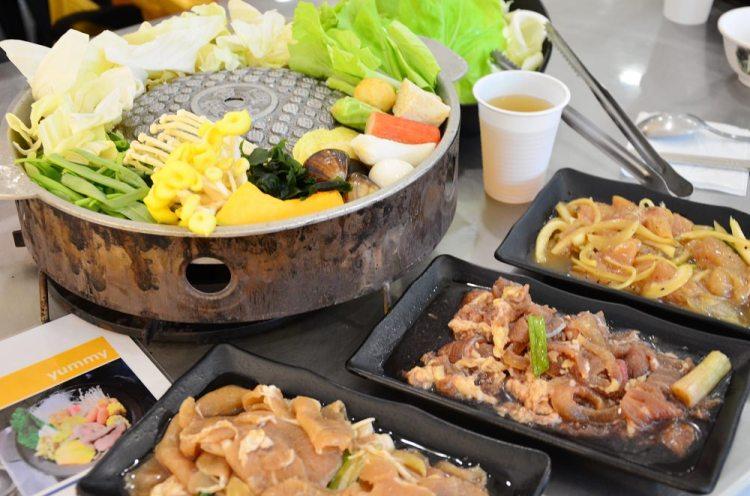 嘉義美食_銅鍋!銅盤烤肉│西區平價銅盤烤肉、石頭火鍋兩百元有找!