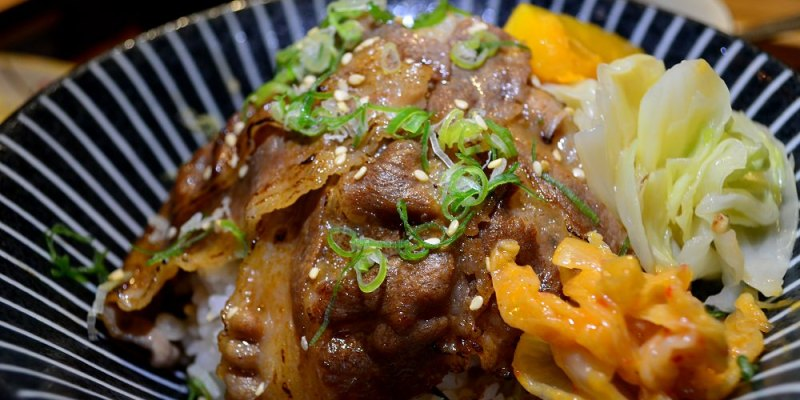 北斗美食_匠沐日式食堂│北斗日式料理,生、熟食丼飯種類豐富,多樣單點任君挑選。