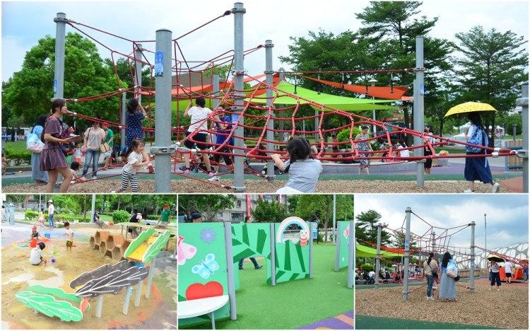 台北親子景點_舞蝶共融遊戲場│花博公園遊樂場,與傳統兒童公園超不一樣!