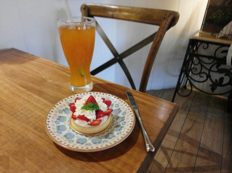 鹿港美食_日安巴黎。Bonjour Paris│鹿港下午茶推薦,冬季草莓甜點新上市!