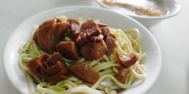 鹿港美食_林明堂素食麵│鹿港最知名的素食麵,我們家小孩從小吃到大!