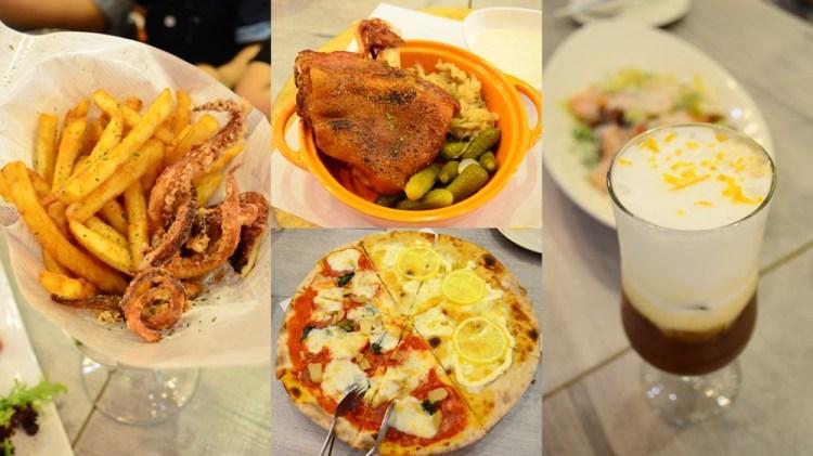 2019天母美食祭_Pizzeria OGGI 歐奇 義大利認證窯烤披薩│四人套餐飽到天靈蓋~