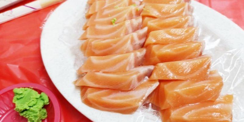 後壁湖美食_阿興生魚片│墾丁美食介紹!十五片鮭魚生魚片只要一百元!