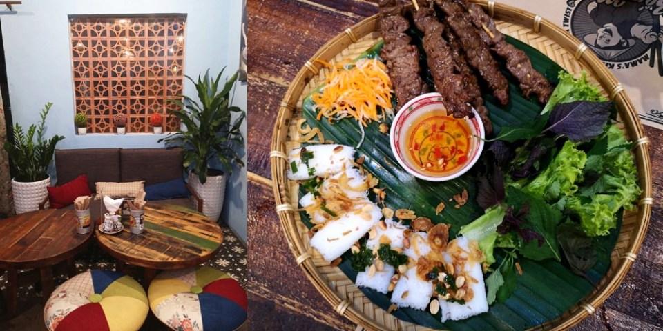 胡志明美食_Bếp Mẹ ỉn│深受喜愛的越南在地美食餐廳,外國遊客很喜歡吃、表現不俗喔~