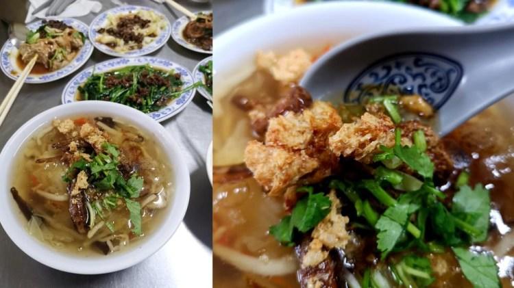 水里美食_阿一香菇肉羹│水里素食推薦、店家自製豆腐乳濃郁夠味。