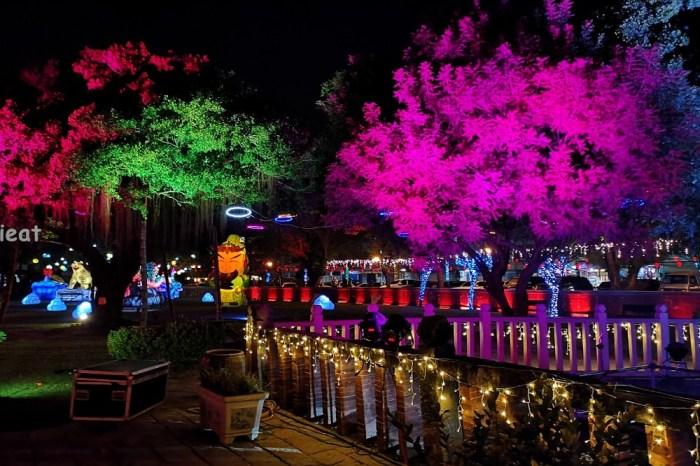 鹿港四季紅-春來賜福迎金鼠│2020鹿港燈會在文武廟,除夕還有點燈水舞儀式喔!