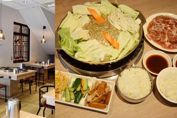 銘谷韓國銅板烤肉 中央陸橋美食推薦 彰化韓國烤肉餐廳