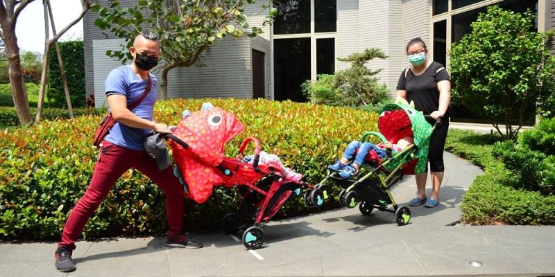 Hello Tata哈囉塔塔│輕便嬰兒推車推薦,可愛的造型到哪裡都吸引人注意!