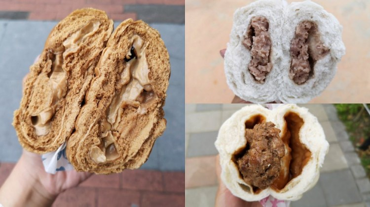 西大發│新竹城隍廟美食,西大發城隍包菜單,超過二十種口味的包子,你吃過了嗎?