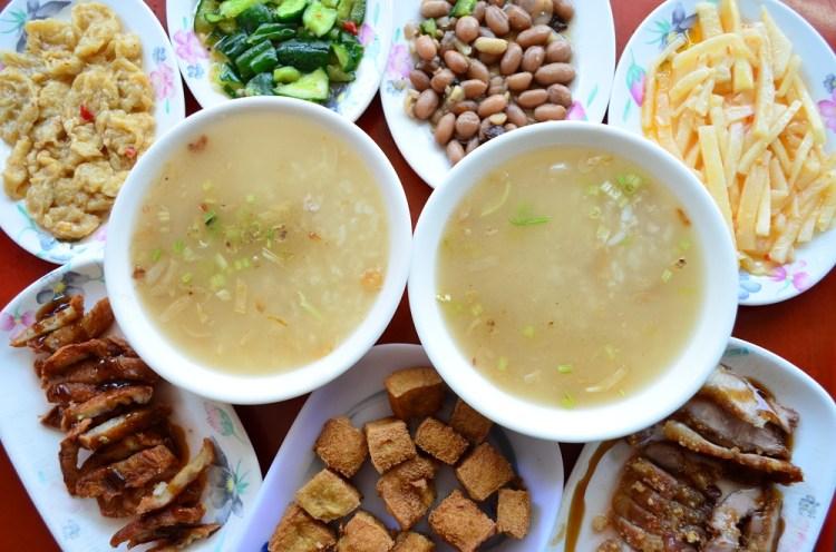 上安肉粥│台中肉粥、台中西屯區美食,清晨起來就吃到的暖胃樸實小吃~