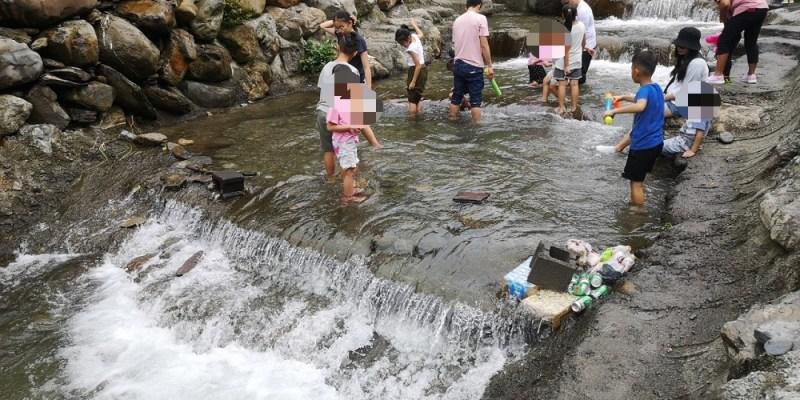 埔里聽瀑森林營地│埔里玩水、埔里露營、溪邊玩水,不用露營也能進來玩水、看小魚穿梭~