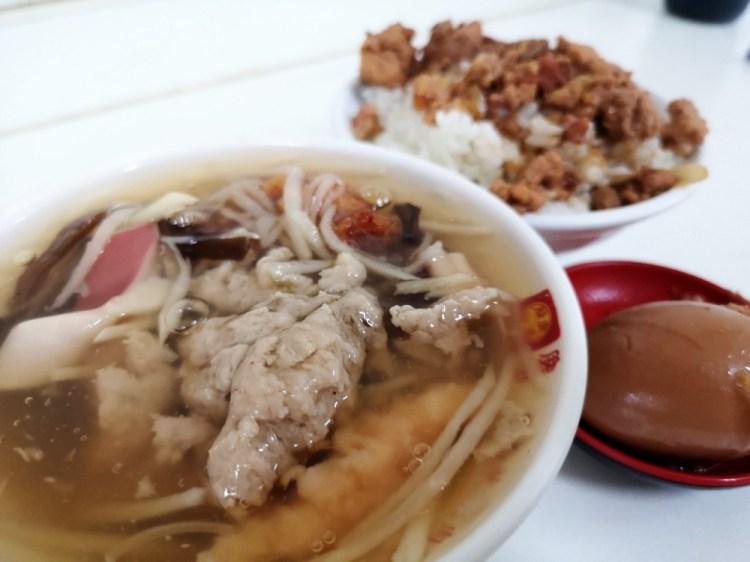 龍山魷魚肉焿│鹿港小吃、鹿港菜市場美食、鹿港第一市場美食,傳統的肉炸好好吃~