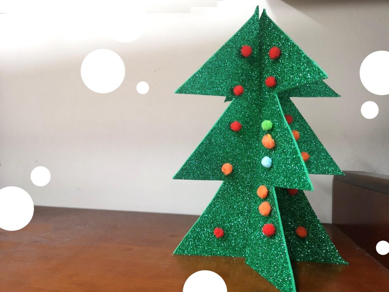 聖誕樹DIY│ 簡單聖誕樹動手做,聖誕樹自己做~