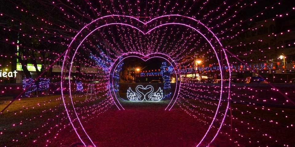 2021彰化鹿港燈會在文武廟!